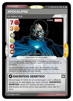 Fabian Balbinot - MagicJebb: Marvel Battle Scenes - o Apocalipse chegou em Ofen...