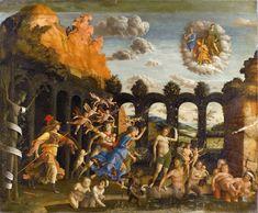 Il Trionfo della Virtù (o Minerva scaccia i Vizi dal giardino della Virtù) è un dipinto tempera su tela di Andrea Mantegna, completato nel 1502 per lo studiolo di Isabella d'Este nel Palazzo Ducale di Mantova. (oggi al Louvre di Parigi).
