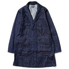 Engineered Garments Shop Coat - 11oz Broken Denim