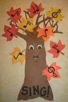 Music Tree LDS Primary Singing Time Idea - LDS Primary Music Tree