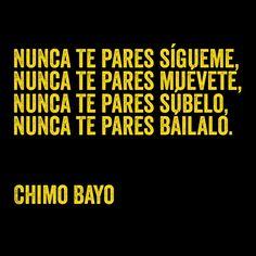 """Letra de """"Química"""", Chimo Bayo (1992)"""