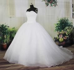 Custom-Made 'Floaty' Wedding Dress  £249.99 @ www.nubride2be.com  What nakes us unique?  We will show you our dresses without the model, we are proud of our quality!  See our stunning video here:  http://www.youtube.com/watch?v=Ha19WlMxL_0