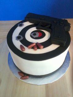 Gun Cake!