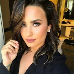 How Demi Lovato is living her best life after rehab – Celebrities Female Cabelo Ombre Hair, Selena Gomez, Demi Love, Idol, Peinados Pin Up, Woman Crush, Wedding Makeup, Girl Crushes, Rihanna