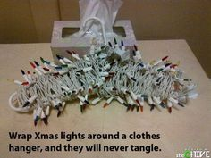 Genius.. Although I'm sure even in the unraveling process I'd somehow get them tangled.