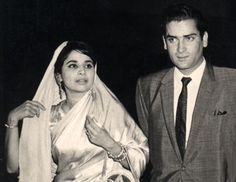 Shammi and wife Geeta Bali
