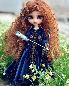 Merida - New one Pullip Custom Doll. Soon available for adoption in my Etsy shop. ✨ #OOAK #Doll #OoakDoll #PullipCustom…