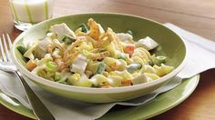 Leftover rotisserie chicken, frozen veggies and noodles make a super-quick, delicious dinner.