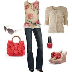 Spring, created by shelbya62 on Polyvore