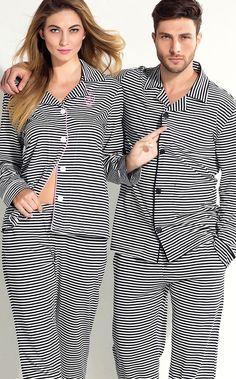 Ref. 7930 / 8074 As listras, as estrelas e os detalhes de filetes e bordados, fazem parte do legado Mixte Vintage. Linha de Meia malha penteada com bordado exclusivo, variantes listradas e lisas. MIXTE PIJAMAS • Fall - Winter 2016 Adult Pajamas, Pyjamas, Family Outfits, Casual Outfits, Lingerie Babydoll, Summer Pajamas, Night Suit, Lingerie Outfits, Pretty Lingerie
