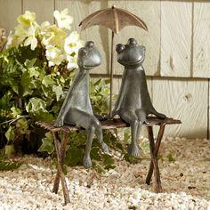 Found it at Wayfair - Frogs Garden Statue
