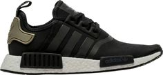 Adidas NMD R1 Runner TRACE CARGO Core Black Trail Olive BA7251 #adidas #AthleticSneakers