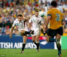 Finest moment in English Rugby when Jonny Wilkinson dropped a goal to win England the World Cup in 2003!