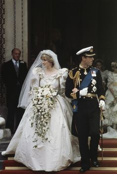 HRH The Prince of Wales and Lady Diana Spencer