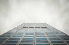 building, architecture, windows, business, corporate, office, sky, clouds, cloudy, grey, city, urban