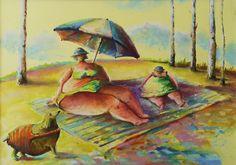 rysunek, pastele,ilustracja, pies, zwierzęta, scenka rodzajowa Painting, Art, Art Background, Painting Art, Kunst, Paintings, Performing Arts, Painted Canvas, Drawings