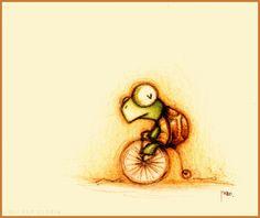 m_1263641882084、Fabo 画、动漫 绘画、萌、动物、插画、彩铅