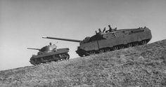 M22 Locust and T28 Super Heavy Tank