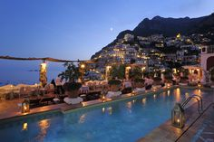 Positano, Italy is one of my favorite cities - and this luxury hotel offers incredible views and luxury