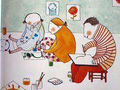prateleira-de-baixo: The opposite. Ilustração de Elena Odriozola, texto de Tom MacRae