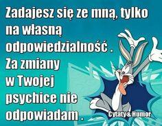 Polish Memes, Weekend Humor, Just Smile, Insta Story, Motto, Positive Vibes, Sentences, Feel Good, Haha