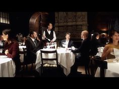 Patrick Dempsey's way of... having dinner. - YouTube