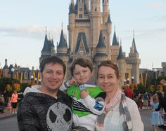 One family visits magical Disney World