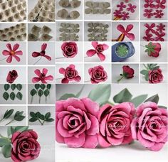 Wonderful DIY  Decorative Flower With Egg Carton