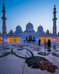 Sheikh Zayed Mosque, Abu Dhabi... - Great Little Place