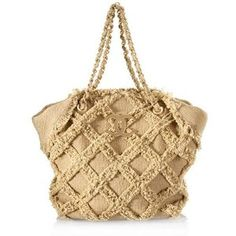 Chanel Tweed Small Tote