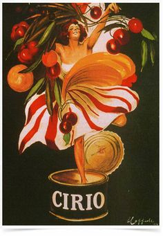 Poster Propaganda Bebidas Molho Cirio - Decor10