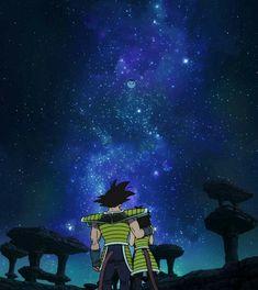 Bardock and Gine sending Goku (Kakarot) off Planet Vegeta Dragon Ball Z, Manga, Db Z, Arte Horror, Son Goku, Otaku, Spiderman, Wallpaper, Bleach