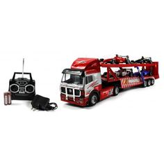 Champion Race Track Trailer Electric RC Truck RTR w/ Toy F1 Cars  $29.95 www.paradiseinternetmall.net