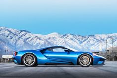 2017 Ford GT Side View