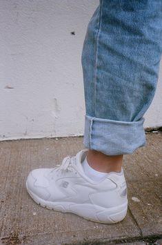 Sneakers Blanches La Du Moment Tendance Adidas Falcon adidas x5zTqnI