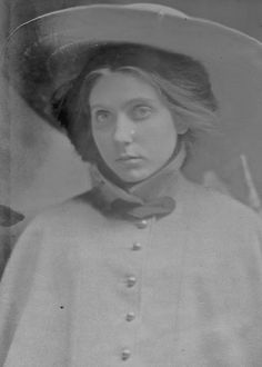 a very young Beatrice Wood