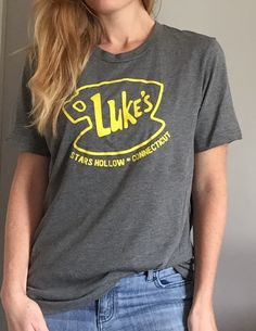 "This is for all those ""Gilmore Girls"" lovers!!!  You know who you!  We've chosen some of our favorite quotes and designs from ""Gilmore Girls"" and have no doubt these tees will make the perfect addition to your casual jean and t-shirt days."