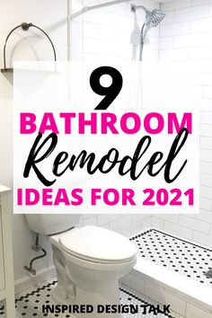 wow these tips and tricks are so helpful for my small bathroom remodel! #bathroom #bathroomtile