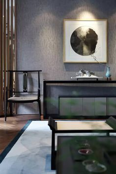 这样的新中式设计才叫顶级!! Console Table Living Room, White Console Table, Console Tables, Chinese Interior, Asian Interior, Zen Interiors, Beautiful Living Rooms, Contemporary Decor, Interior Design Inspiration