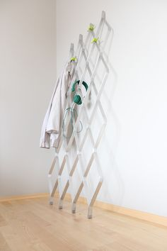 """""""EVEN"""" by Mateusz Sipiora  Hanger made from aluminium inspired by bionic structures."""