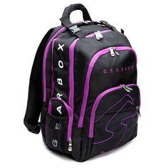 Gearbox Prism Backpack – Black/purple