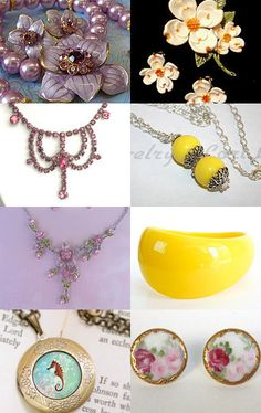 In Time For Spring by Tammie Thomas on Etsy--Pinned with TreasuryPin.com