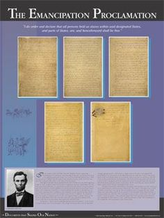 Documents That Shaped Our Nation- The Emancipation Proclamation