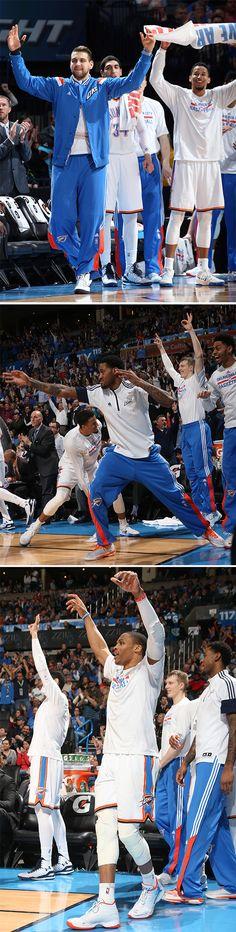 #Teammates | Thunder vs. Pacers, Feb. 24, 2015