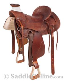 Brown Western Ranch Wade Tree Cowboy Saddle 17 Scratch & Dent $499.00 +$100.00 shipping.....