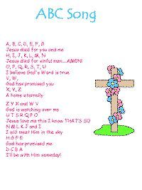 There are good printable songs at DLTK (where the link will take you), but there are also some great ones at http://hubbardscupboard.org/bible_memorization.html# I could not get a pic to pin at that site.