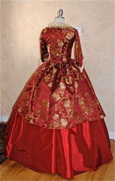 New Style Marie Antoinette Gown Shorter Sleeves