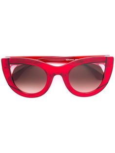 f3b6211a1915 THIERRY LASRY cat eye sunglasses.  thierrylasry  sunglasses Red Cat Eye  Sunglasses