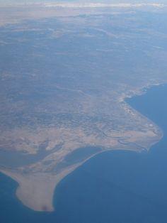 Aerial, seashore Bulgaria