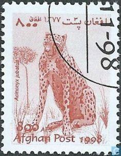 Postage Stamps - Afghanistan [AFG] - Cheetah
